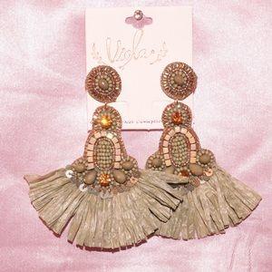 Jewelry - Great beaded earrings 🌿
